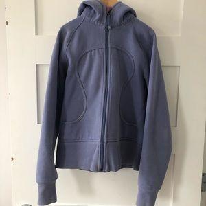 Lululemon periwinkle blue scuba sweater